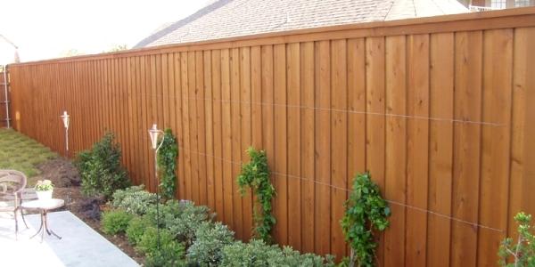 Cedar Cypress Pine Windsor Natural Wood Privacy Fence